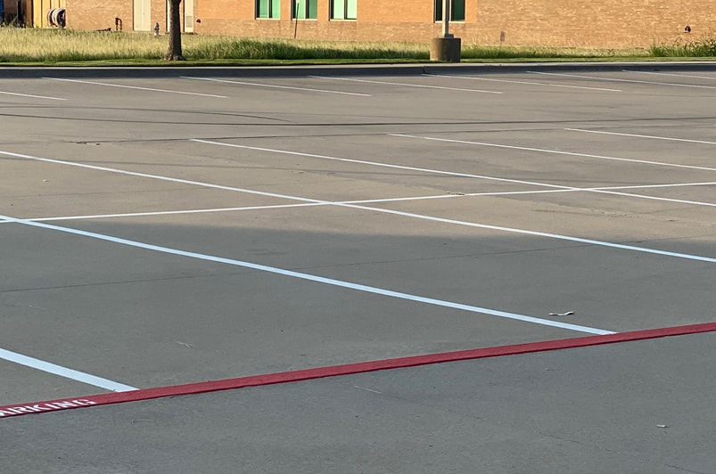 Contact Us For Parking Lot Striping